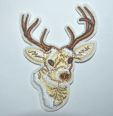 Patch  Tete De Cerf  Thermocollant Coutures