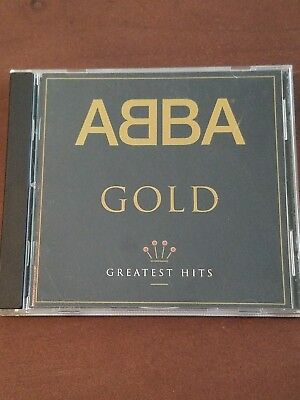 Abba Gold Greatest Hits CD For BMG 1992 Polar Music
