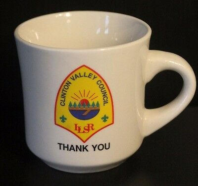 Thank You Mug -Vintage- Boy Scouts of America Clinton Valley- Lost Lake LLSR BSA