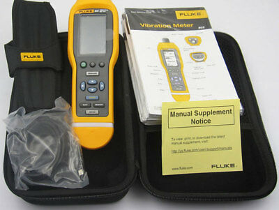 Fluke 805 Vibration Meter Tester Mechanical Troubleshooting and Maintenance