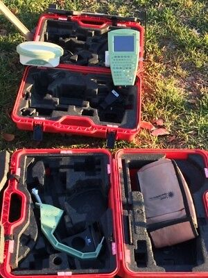Leica GPS RTK 1200 system with Glonass, 1 tripod with 6 batteries and charger