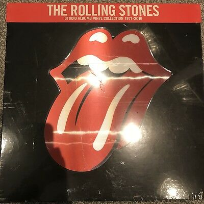 """The Rolling Stones """"15 Studio Albums Vinyl Collection 1971-2016"""" NEW & SEALED"""