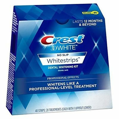 Crest3D White Professional Effects Whitening Strips - New Box