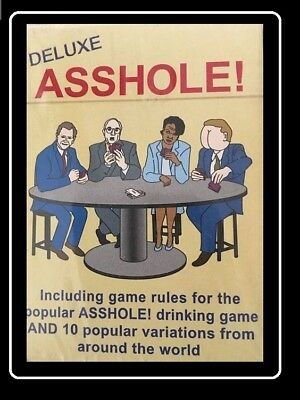 how to play the drinking game asshole
