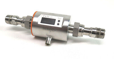 """IFM Electronic GMBH SM6004 Magnetic Flow Meter with 1/2"""" Fittings"""