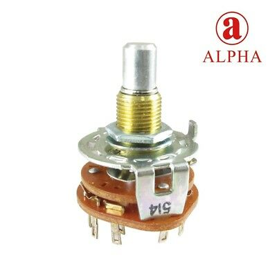 Rotary Switch, Alpha , Choice of 3 or 4-Way. 3 Poles