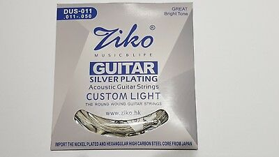 Premium Guitar Strings Acoustic Classical Electric Silver Copper Bronze Nickel