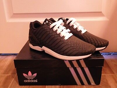 8b704480ebba8 Adidas ZX Flux  Xeno  Reflective B24441 3m Size 10 New with ...
