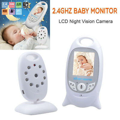 2.4G LCD Digital Baby Monitor Audio Wireless Video Security Camera Night Vision