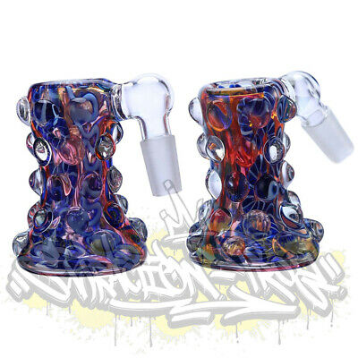 Inside Out Gold Fumed Color Changing Glass Latty Cane Stringer A/C  14mm 18mm