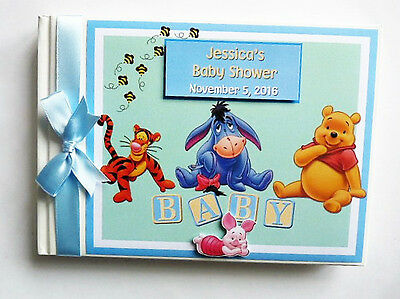 Disney Winnie The Pooh  And Friends Boy/girl1St Birthday Guest Book - Any Design