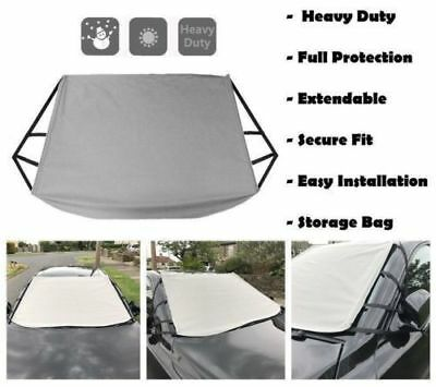 For SEAT ALTEA XL 97-04 HEAVY DUTY WINDSCREEN FROST ICE SNOW COVER PROTECTOR