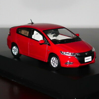 Stunning Red Honda Insight Street Car Model 2010 Scale 1:43 Jcollection