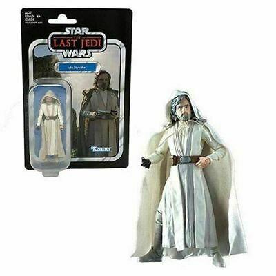 "Star Wars ""The Vintage Collection"" Luke Skywalker Jedi Master 3 3/4-Inch Action"
