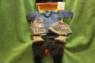 "American Girl 2001 ""Fly Fishing Outfit"" -COMPLETE- RETIRED - RARE - NEW(NO DOLL)"