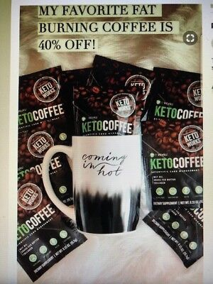 It Works! Keto Coffee! Unopened with 15 individual packets!