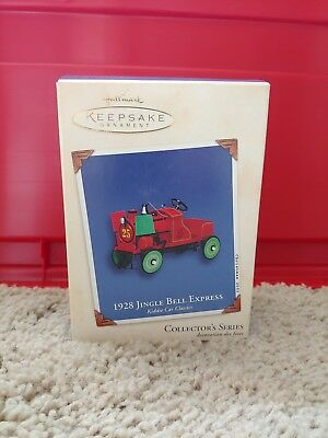 Hallmark Keepsake Ornament 1928 Jingle Bell Express #9 2002