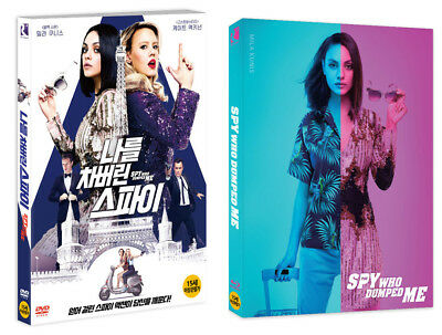 The Spy Who Dumped Me (2018, DVD, Blu-ray) Slip Case Edition