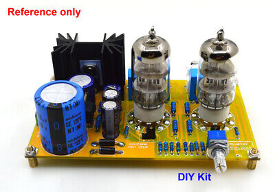 DIY PRT-02A 6N2 Stereo Tube Preamplifier Kit base on Classic M7 Preamp  Circuit