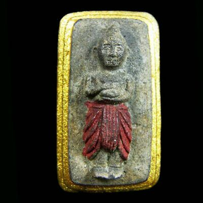 Thai Magic Voodoo Kuman Thong Amulet LP Tae Ghost Boy Huanted Doll Lucky Wealth