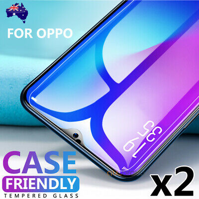 2x Oppo R17 Pro R15 Pro Anti Scratch Resist Tempered Glass Screen Protector Film