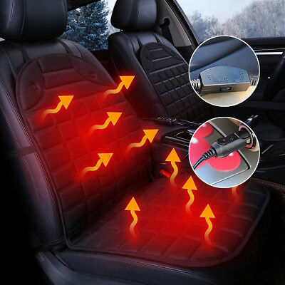 Universal Car Electric Heated Seat Cushion Pad Cover Heater Winter Warmer 12V DC
