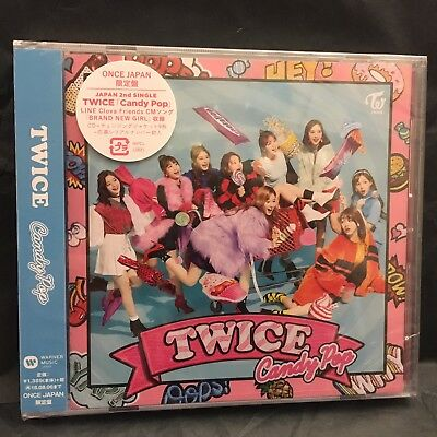 TWICE Candy Pop FC ONCE Limited Edition CD Album with 9 Changing Covers New