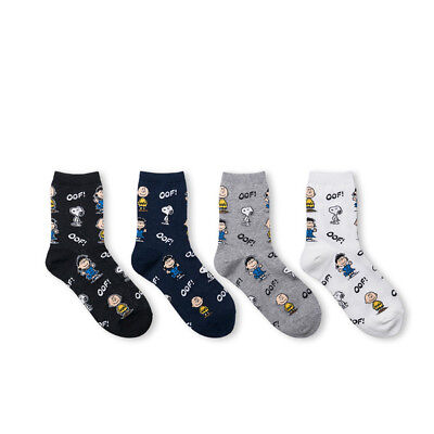 Moomin Valley Licensed Korea Womens Socks Cute Character Novelty Cartoon