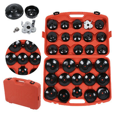 Hand Tools 31pc Oil Filter Wrench Cap Socket Set  Durable Car Garage Removal Tool FN