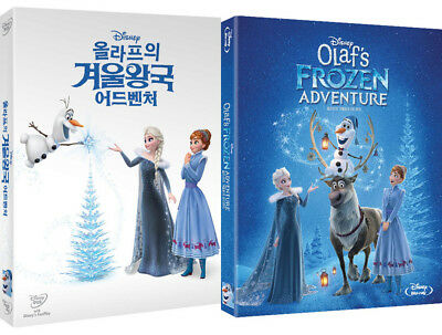 Olaf's Frozen Adventure - DVD, Blu-ray Slip Case Edition (2018)