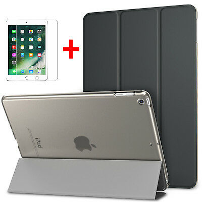 iPad 6th Generation 2018 2017 9.7 Case Smart Cover w/ Screen Protector For Apple