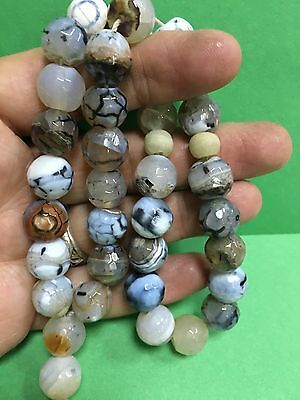 antique  Big BEAUTIFUL OLD Sulimani agate carnelian Stone Worry Beads Islamic 33