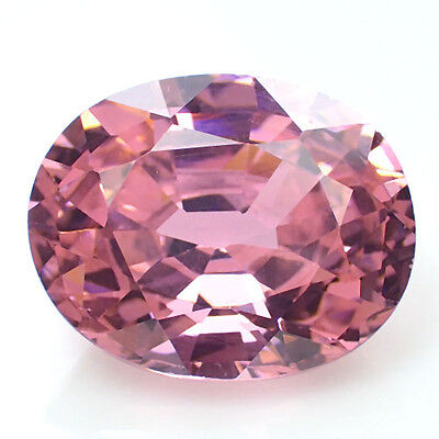 Pink Cubic Zirconia 13.2Ct Oval Shape 13.5x11mm AAA Gemstone