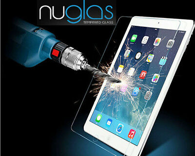 "Nuglas Glass Screen Protector for Newest iPad Pro 11"" 12.9"" iPad  9.7"" 2018"