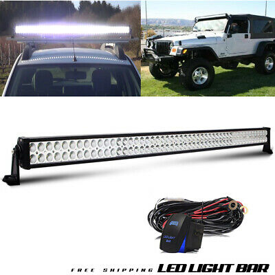 52Inch Combo LED Light Bar + Wiring OFFROAD Truck SUV For FORD 4WD ATV UTE