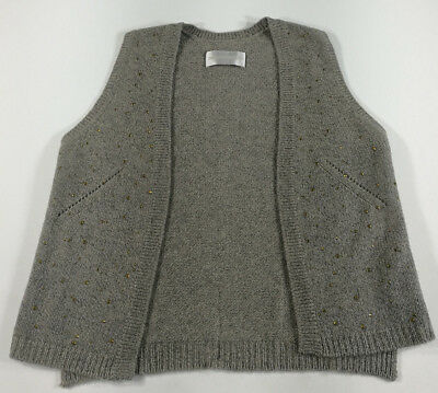 Zadig&voltaire Deluxe Gilet Cardigan Donna Woman Sweater Cashmere Vintage