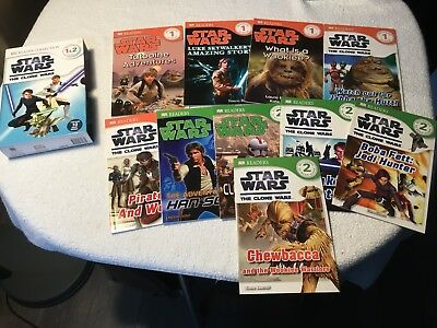 Star Wars The Clone Wars Reader Collection Early Readers Childrens Reading Books
