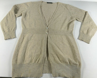 Kilu' Maglioncino Cardigan Donna Woman Sweater Cashmere Vintage Made In Italy
