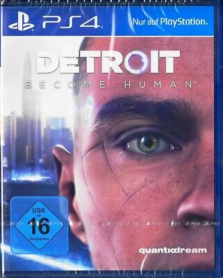 Detroit Become Human - PlayStation 4 / PS4 - Neu & OVP - Deutsche Version