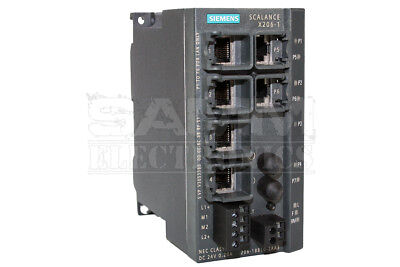 Siemens 6Gk5206-1Bb10-2Aa3 Scalance X206-1, Managed Ie Switch, - Reconditioned
