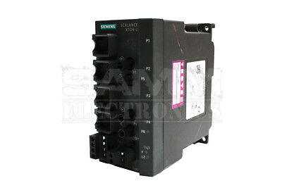 Siemens 6Gk5104-2Bb00-2Aa3 Scalance X104-2, Unmanaged Ie Switc - Reconditioned