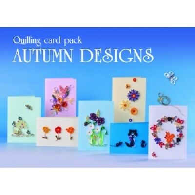 Boxed Quilling Card Kit - Autumn