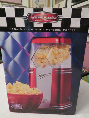 Nostalgia Electrics Retro Series 50s Style Hot Air Popcorn Popper RHP310 NIB