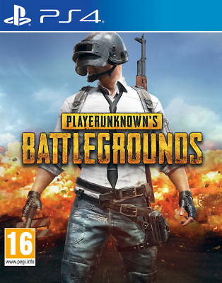 Playerunknown Battlegrounds (PUBG) (PS4 VIDEO GAME) *NEW/SEALED* FREE P&P