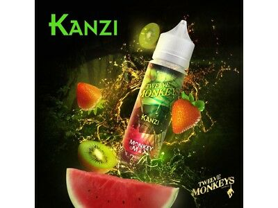 Twelve Monkeys Liquid Shake and Vape - Kanzi 0 mg/ml 50ml DIY