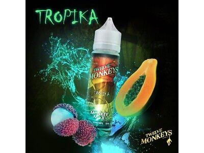 Twelve Monkeys Liquid Shake and Vape - Tropika 0 mg/ml 50ml DIY