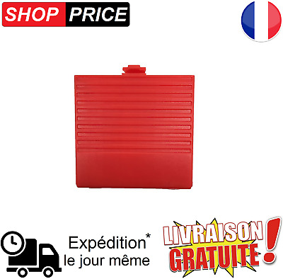 Cache pile Rouge pour Nintendo Game Boy (NEUF)