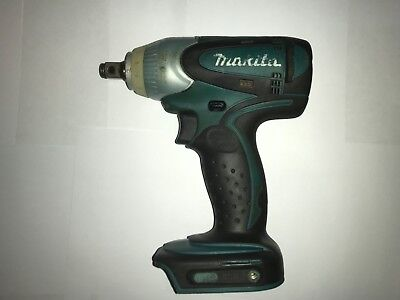 "Makita BTW251 1/2"" Impact Wrench with charger and case 18V"
