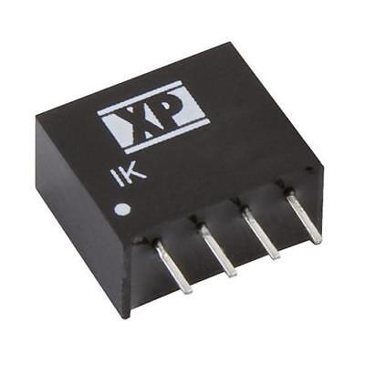 1 x XP Power IK 0.25W Isolated DC-DC Converter, Vin 10.8-13.2V dc Vout 12V dc
