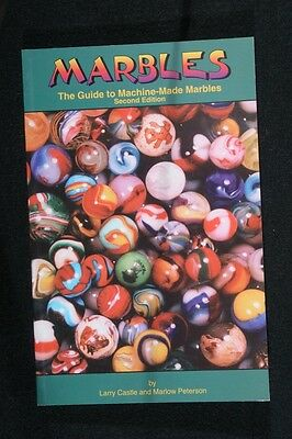 """1995 Book """"marbles, The Guide To Machine Made Marbles"""" By Marlow P. And Larry C."""